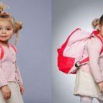 Bảo vệ trẻ với cặp chống gù cho bé