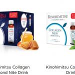 Kinohimitsu collagen drink nước uống đẹp da, tiện lợi nhanh chóng